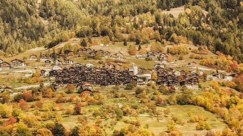 Haut-Valais: Albinen fait son entrée parmi les plus beaux villages de Suisse