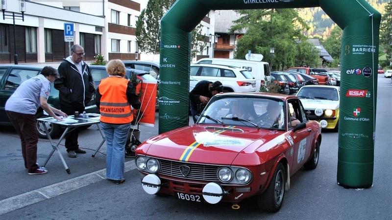Rallye: Villars accueille la finale du Trophée FIA des voitures anciennes