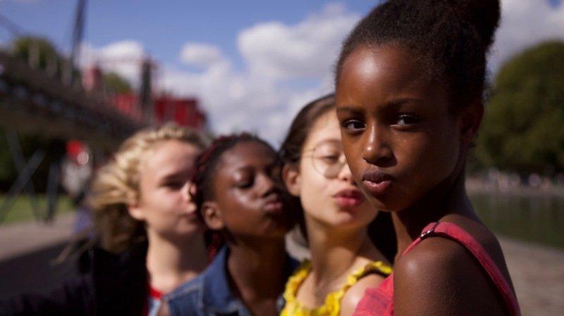 """Le film """"Mignonnes"""" évoque l'histoire d'Amy, préadolescente parisienne, qui intègre un groupe de danse formé par trois autres filles de son quartier, dont les chorégraphies sont parfois suggestives (archives)."""