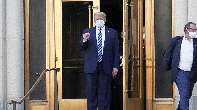 Etats-Unis: Donald Trump est sorti de l'hôpital
