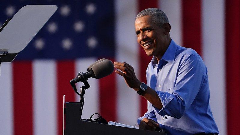 Barack Obama a appelé les démocrates à se mobiliser pour leur candidat Joe Biden.