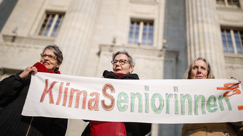 Climat: les Aînées pour le climat portent leur combat à la Cour européenne des droits de l'homme