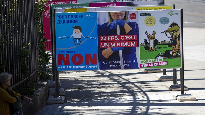 Genève: le salaire minimum de 23 francs de l'heure s'impose