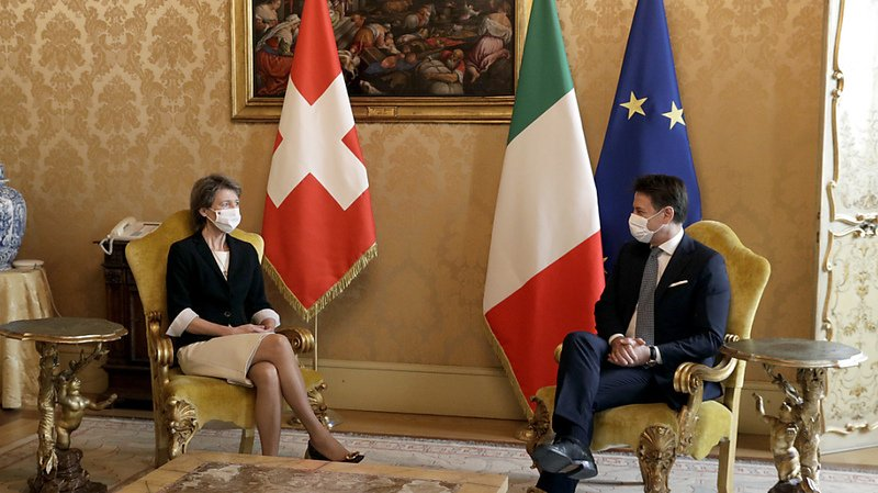 Imposition des frontaliers: l'Italie veut signer rapidement un accord avec la Suisse