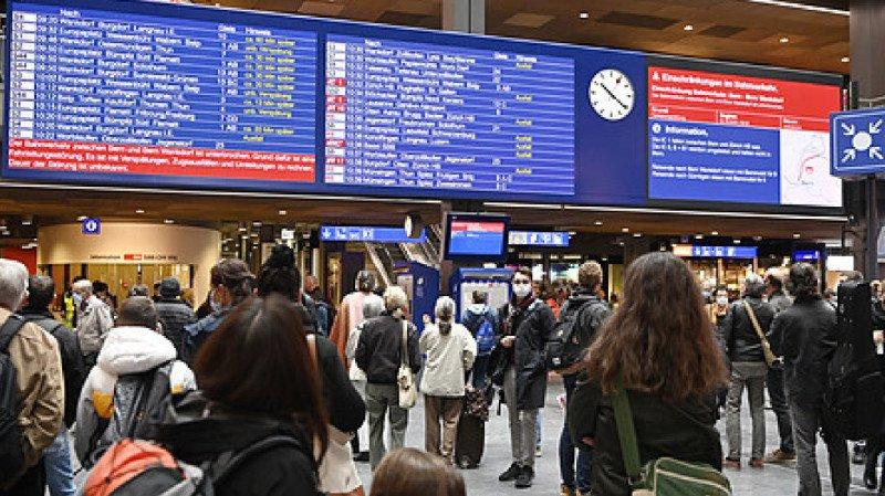 CFF: journée de paralysie à la gare de Berne, le trafic a repris en soirée
