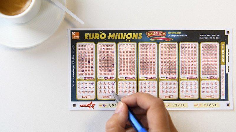Euro Millions: un chanceux remporte plus de 33 millions de francs