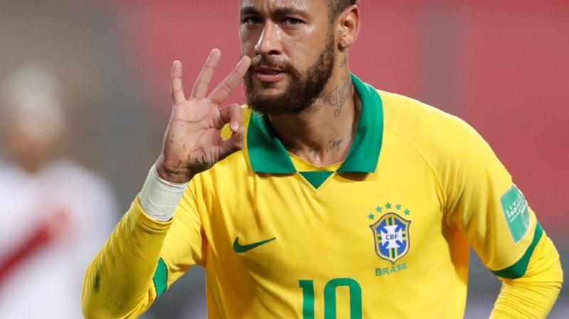 Neymar à la poursuite désormais de Pelé.