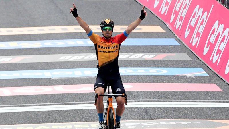 Cyclisme – Tour d'Italie: Tratnik s'impose, Almeida se défend avec panache
