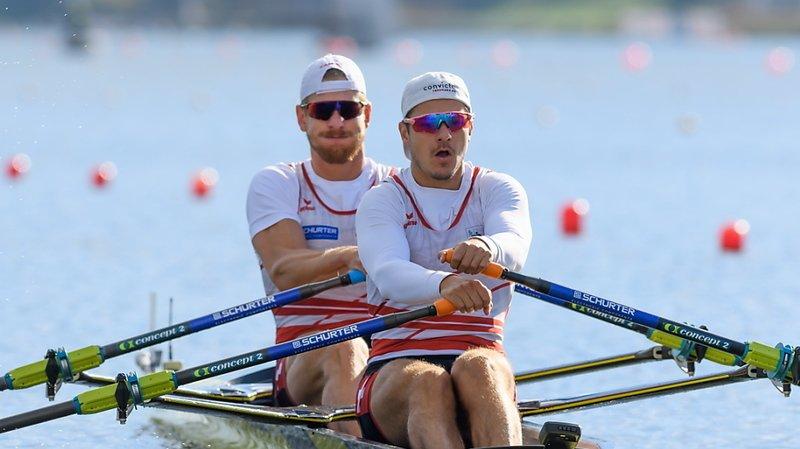Aviron – Championnats d'Europe: Röösli et Delarze décrochent l'argent