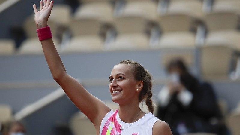 Petra Kvitova est en demi-finale à Roland-Garros.