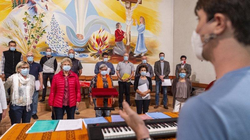 Chorales, fanfares et harmonies: en rangs serrés face au Covid