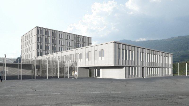 Granges: la prison de Crêtelongue va doubler sa capacité