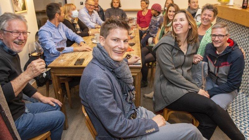 Avec Jérémy Savioz, les Verts décrochent leur siège au conseil communal