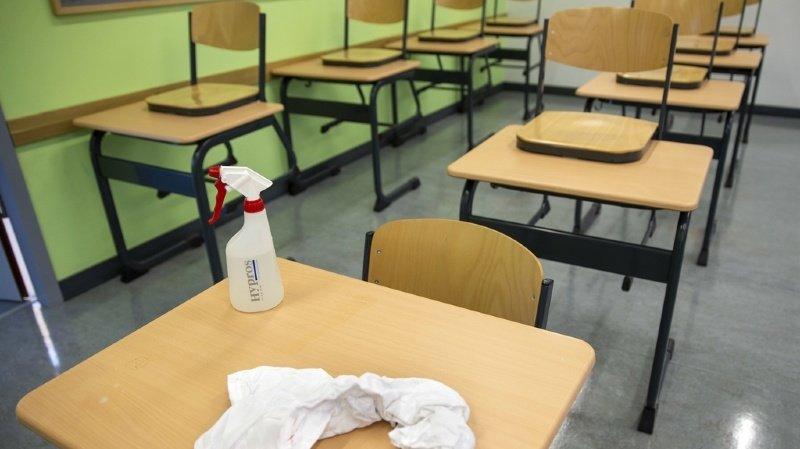C'est la première fois que le Valais romand vit la quarantaine de toute une classe depuis la rentrée.