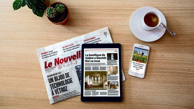 Avec 169000 lecteurs quotidiens, «Le Nouvelliste» établit un nouveau record d'audience