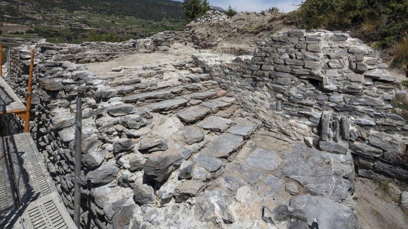 Granges: le site médiéval de la Bâtie dévoile de nouveaux secrets
