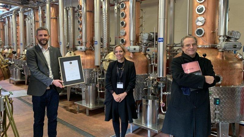 La Distillerie Morand honorée pour son esprit d'entreprise à long terme