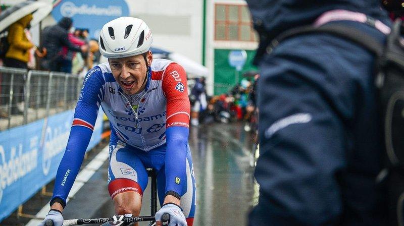 Cyclisme: Kilian Frankiny a vécu une grande première sur le Giro