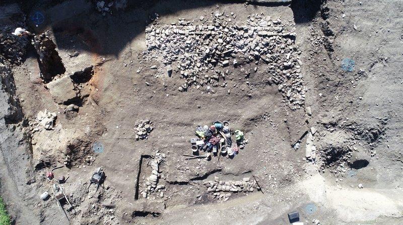 Archéologie: Glis était déjà habité au temps des Romains