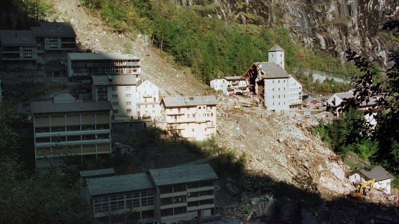 Il y a 20 ans, le Valais vivait l'un des pires week-ends de son histoire