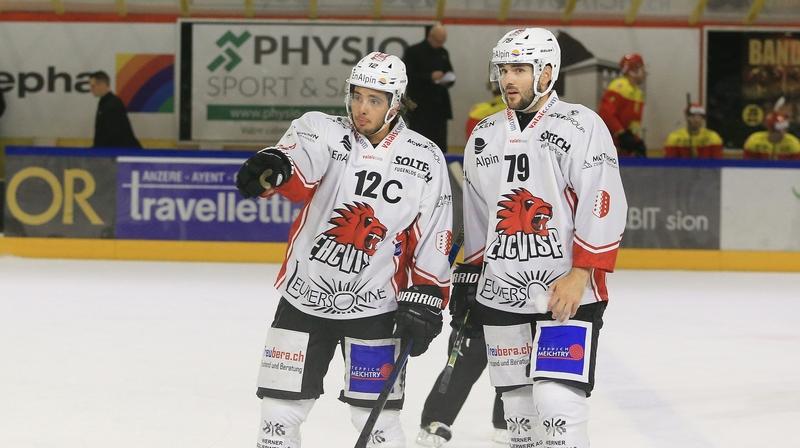 Hockey: deux équipes valaisannes aspirent à fêter la promotion