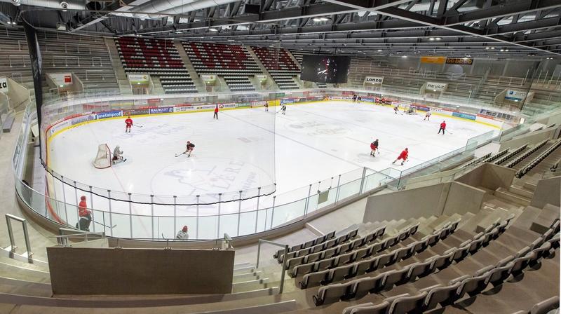 Le HC Viège devra de nouveau jouer dans une Lonza Arena vide son match de Coupe face à Fribourg-Gottéron, dimanche.