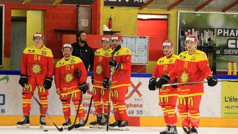 Hockey: le Covid-19 éclipse le bon début de saison du HC Sierre