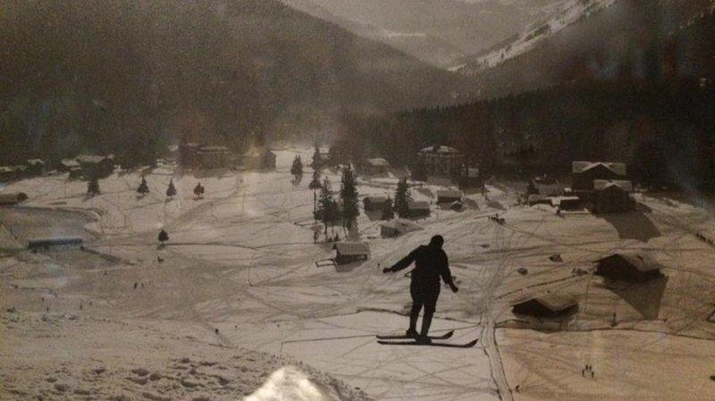 Un tremplin de saut à skis avait été édifié du côté du Corbeau au début du XXe siècle.