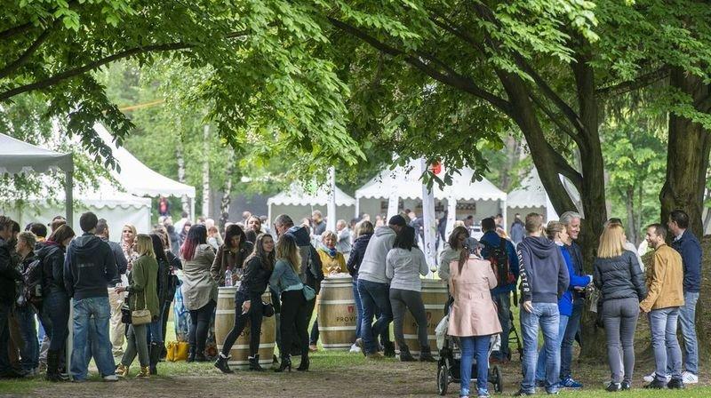 Le Jardin des vins n'a pas pu faire le plein cette année, contrairement aux éditions passées.