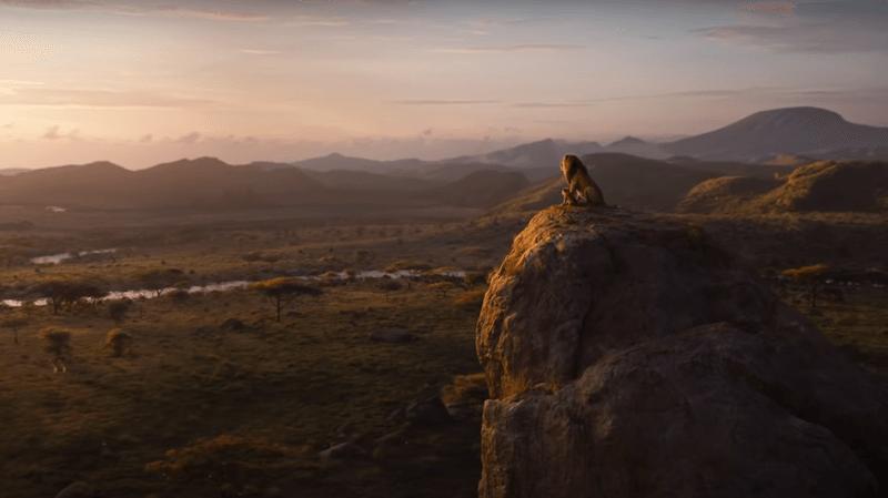 """Le film d'animation du """"Roi Lion"""" en 3D aura une suite (capture d'écran YouTube)."""