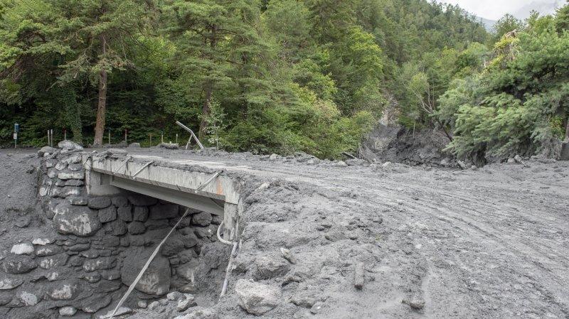 Lave torrentielle de Chamoson: le plan d'urgence de la commune n'aurait pas été respecté