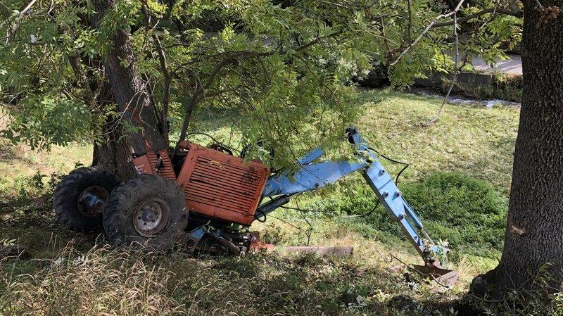 Un ouvrier valaisan tué par sa pelleteuse