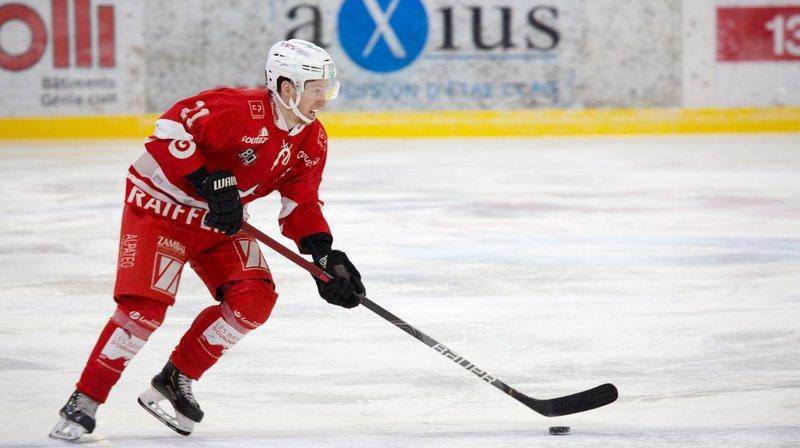 HCV Martigny: première victoire et premier match pour Bastian Baker