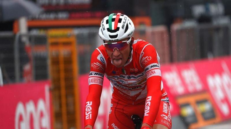 Cyclisme: «Je suis au Giro pour vivre de telles étapes…», relève Simon Pellaud