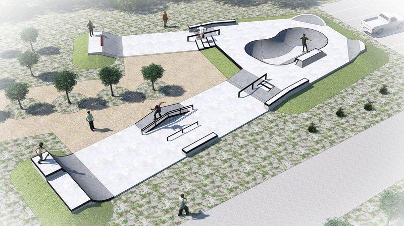 Le skatepark de Riddes sort de terre