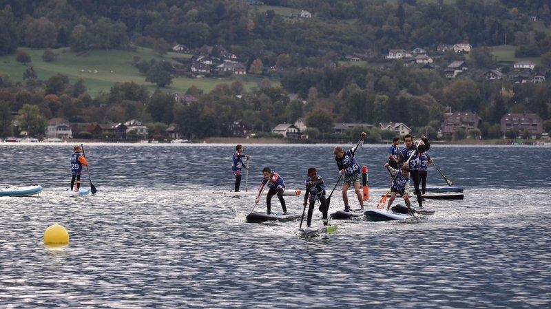 Stand up paddle: les Valaisans se sont mesurés aux meilleurs de France