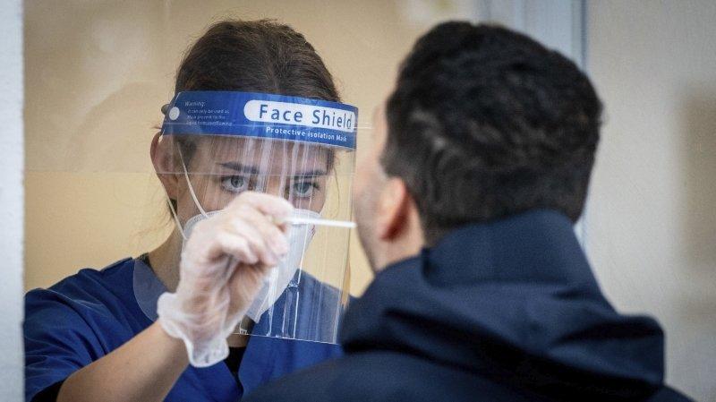 Coronavirus: en Valais, un simple rhume ne suffit plus pour se faire tester