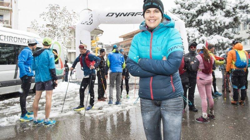 Trail des patrouilleurs, même la neige ne masque pas les sourires