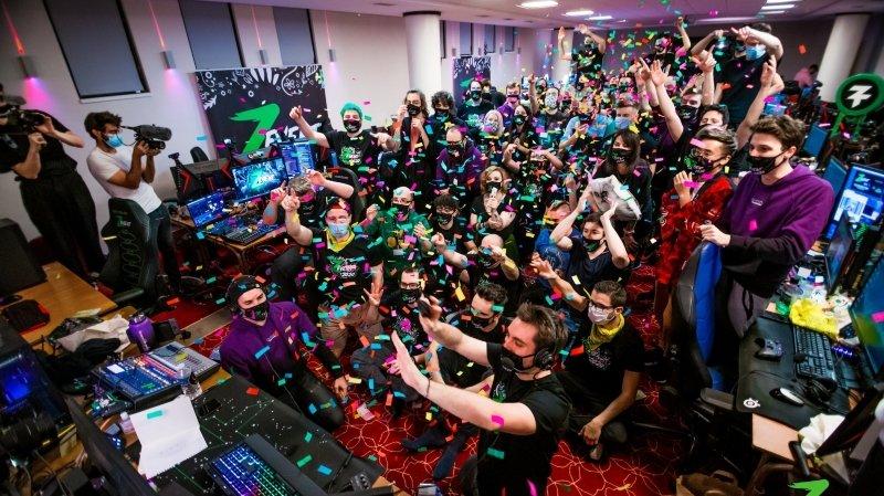 L'événement a été suivi par près de 2,5 millions de personnes sur tout le week-end.