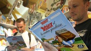 """Bande dessinée: sortie d'un Astérix méconnu restauré à partir d'un """"livre-disque"""""""