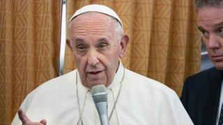 Eglise catholique: le pape François défend le droit des homosexuels à l'union civile