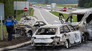 Attaque de fourgons: des suspects du braquage de La Sarraz (VD) interpellés à Lyon