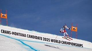 Mondiaux 2025 de ski alpin: la candidature de Crans-Montana/Valais entre espoir et lucidité