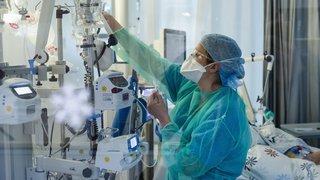 Coronavirus: l'hôpital du Valais passe en degré 4 sur 4