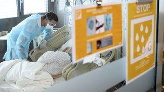 Coronavirus: 600 patients atteints du Covid-19 dans les hôpitaux suisses