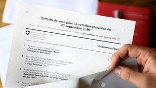 Votations fédérales: les Suisses aux urnes pour cinq objets
