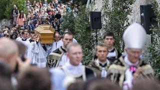 La dépouille de Mgr Lefebvre transférée à l'église d'Ecône
