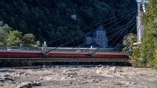 Intempéries en Valais: 24 heures sous haute tension