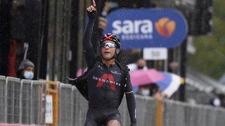 Cyclisme - Tour d'Italie: l'Equatorien Jhonatan Narvaez remporte la 12e étape