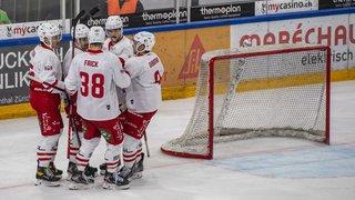 Hockey sur glace: Lausanne implacable à Zoug, Genève-Servette trop court
